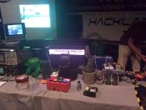 Helsinki Hacklabin ständi
